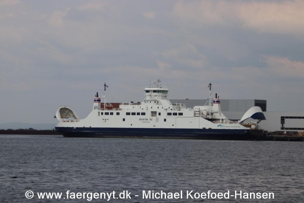 BASTØ III i Horten 21/5-2019
